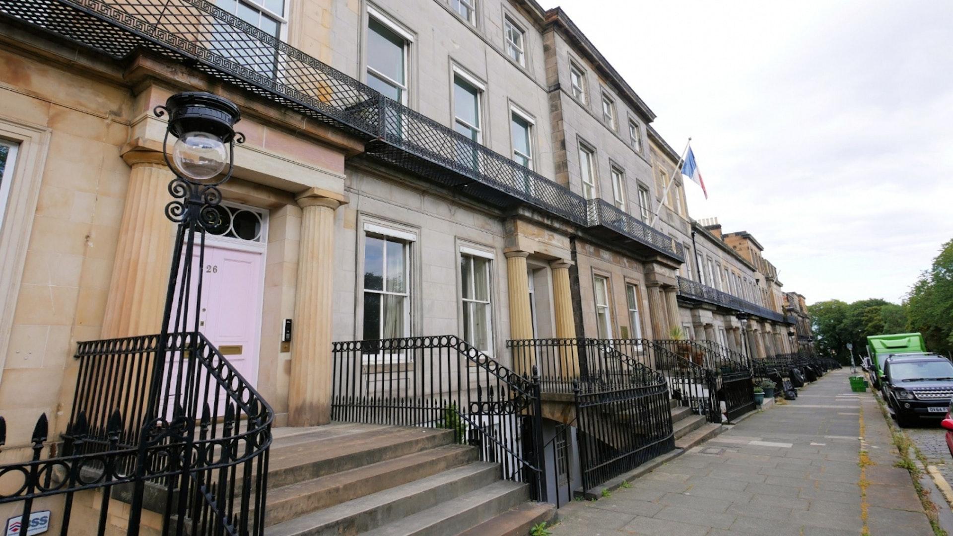 P317: Regent Terrace, Calton Hill, Edinburgh