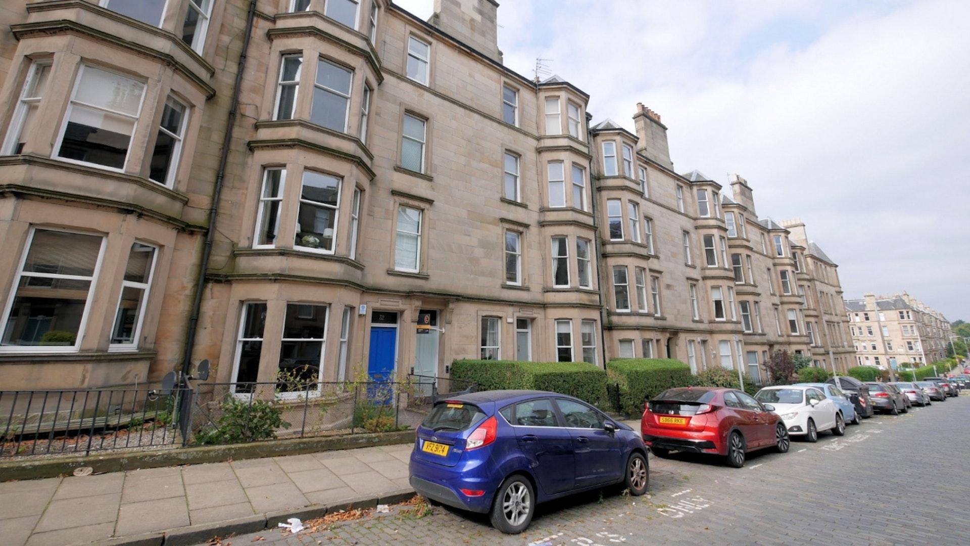 P513: Comely Bank Avenue, Comely Bank, Edinburgh
